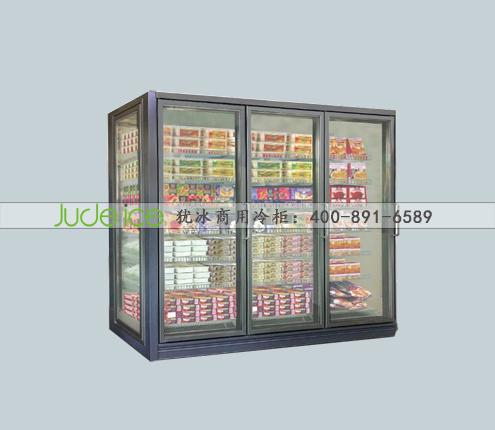 豪华款分体三个玻璃门冷冻柜